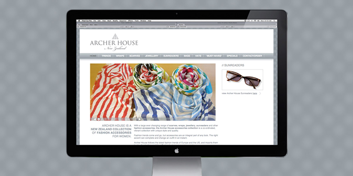 archer house collections website