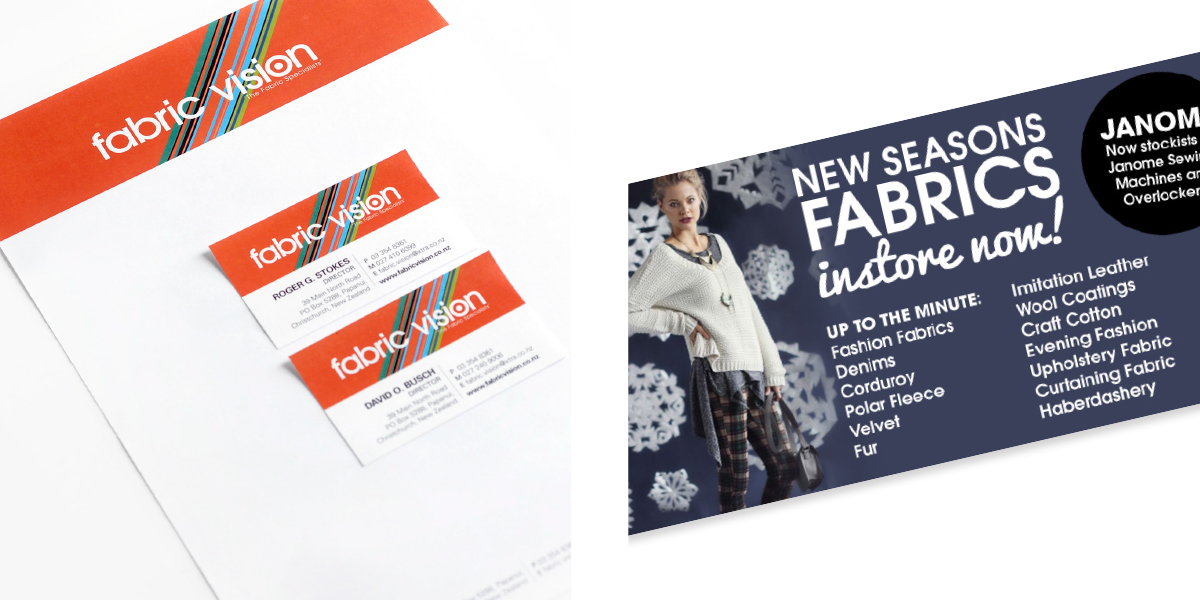 fabric vision stationery