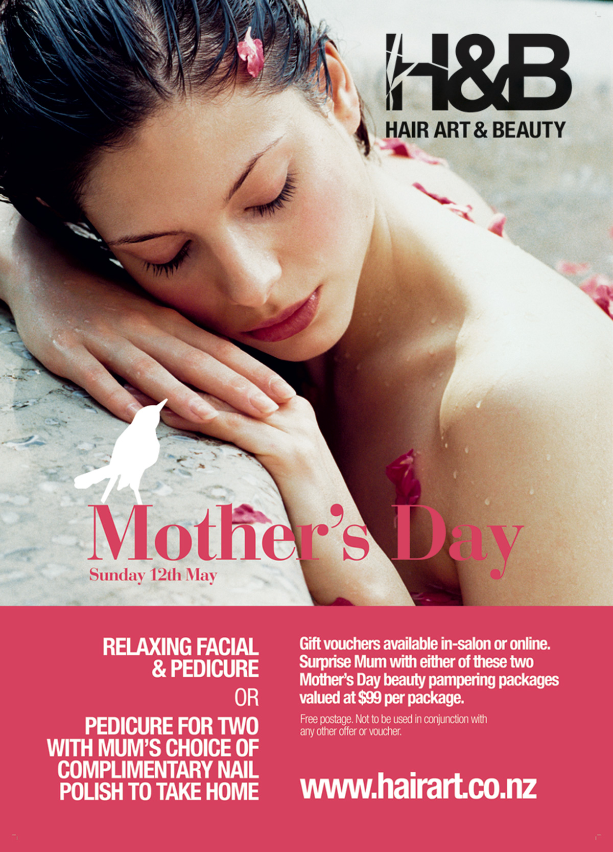 H&B Mother's Day Poster