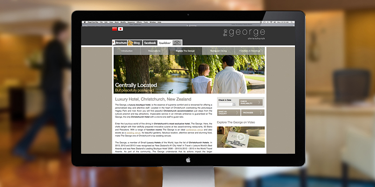 The George Website