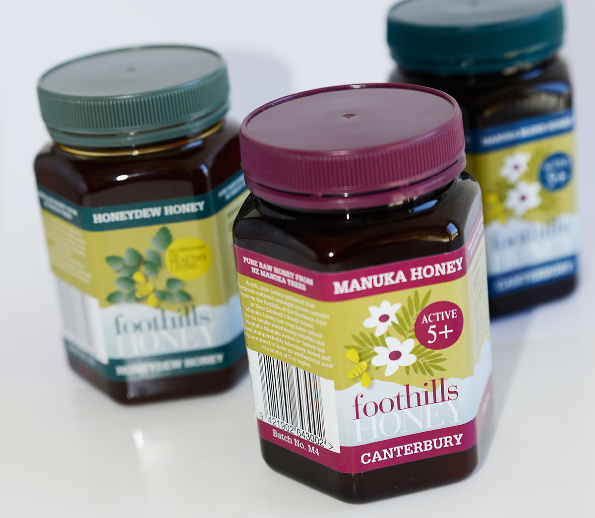 Foothills Honey Packaging