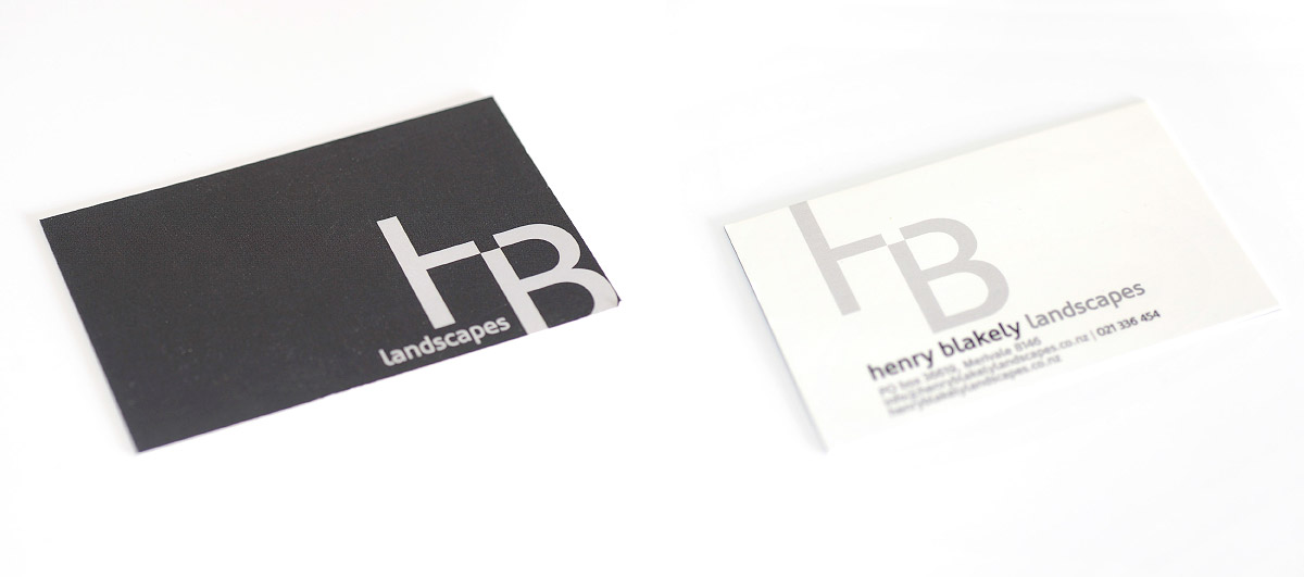 Henry Blakely Business Card