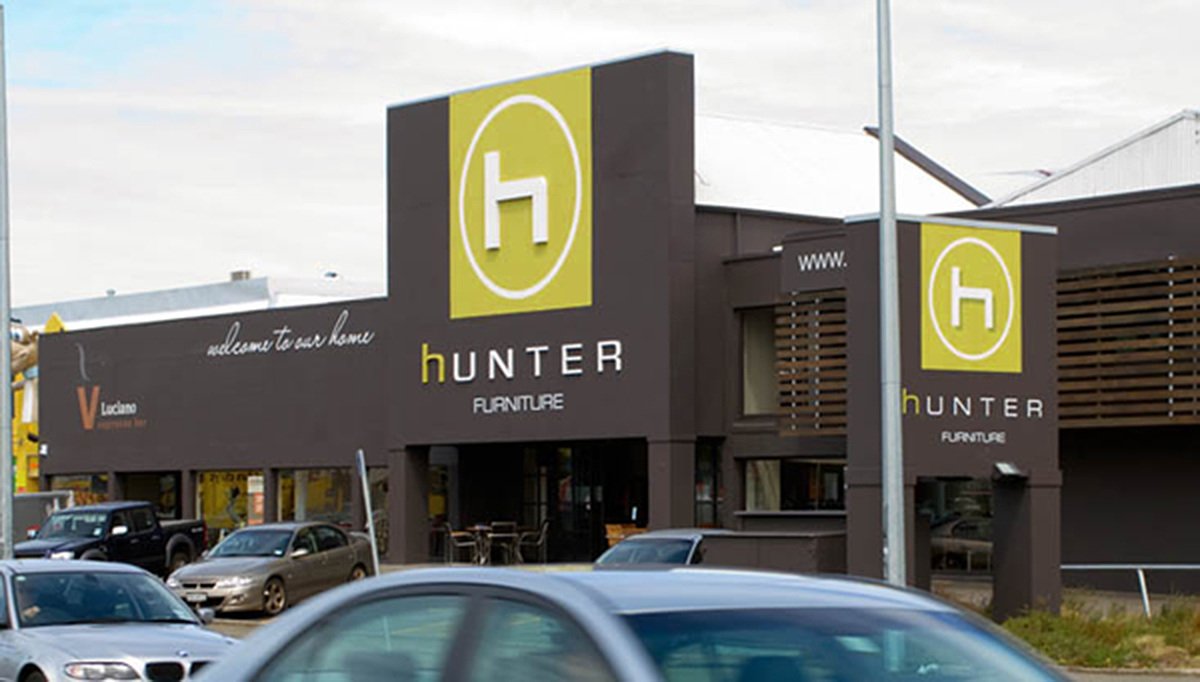 Hunter Furniture Signage