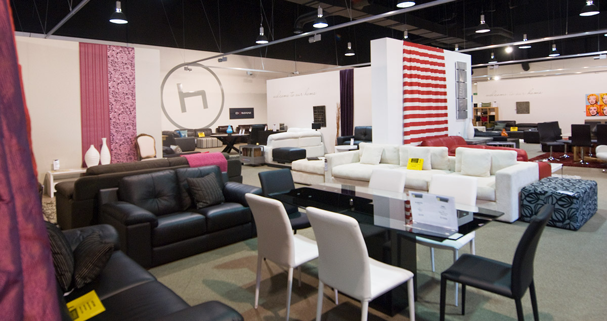 Hunter Furniture Showroom