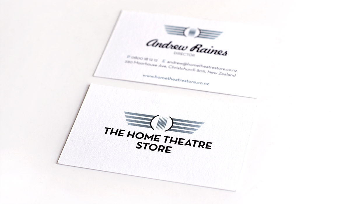 Home Theatre Business Card