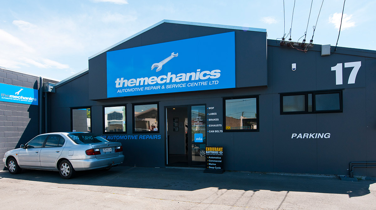 The Mechanics Signage