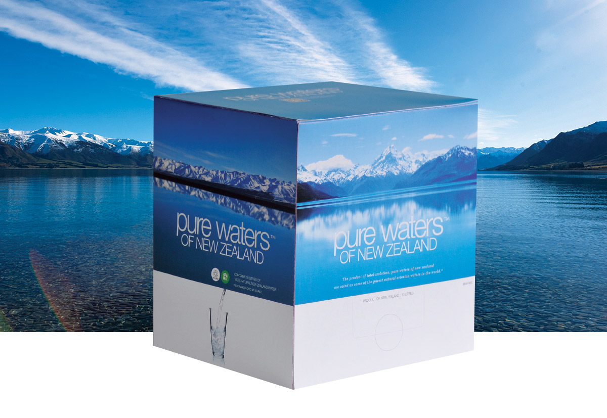 Pure Waters Packaging