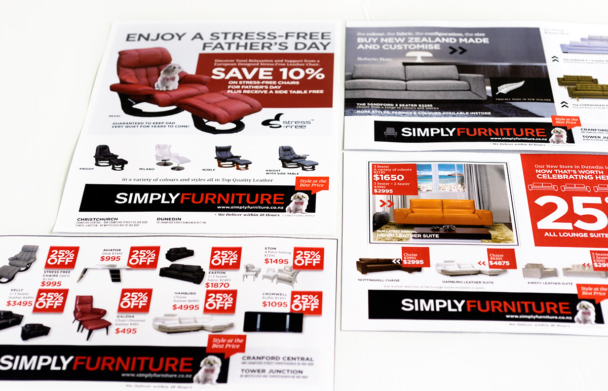 Simply Furniture Brochure