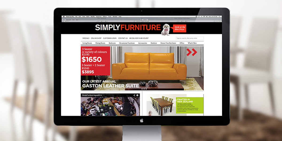 Simply Furniture Website