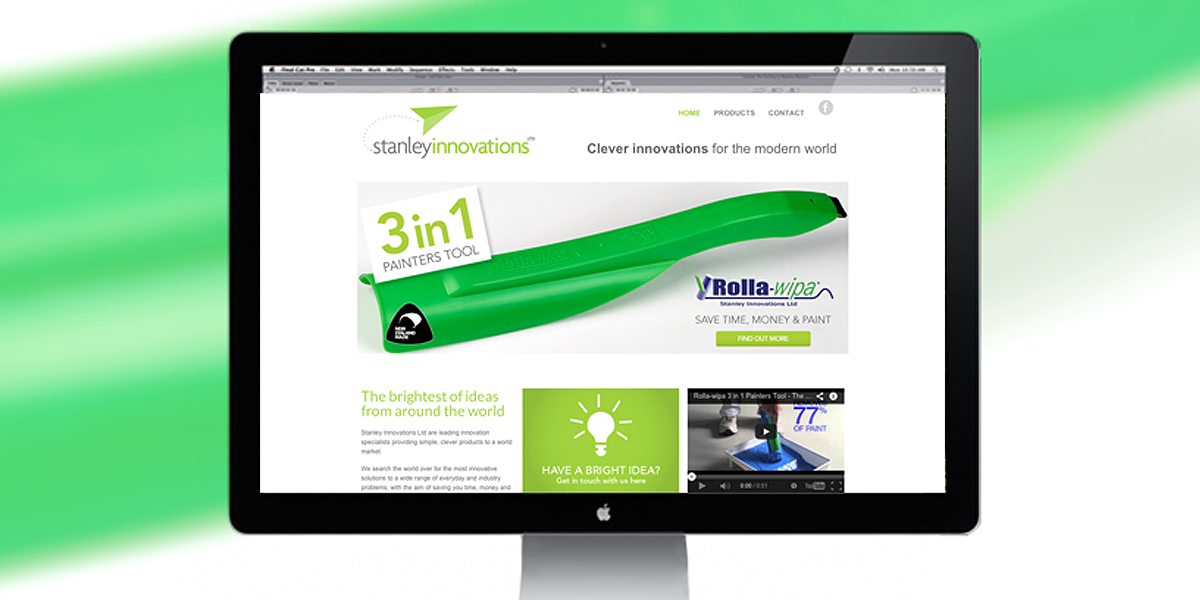 Stanley Innovations Website