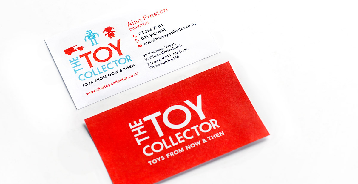 Toy Collector Business Card