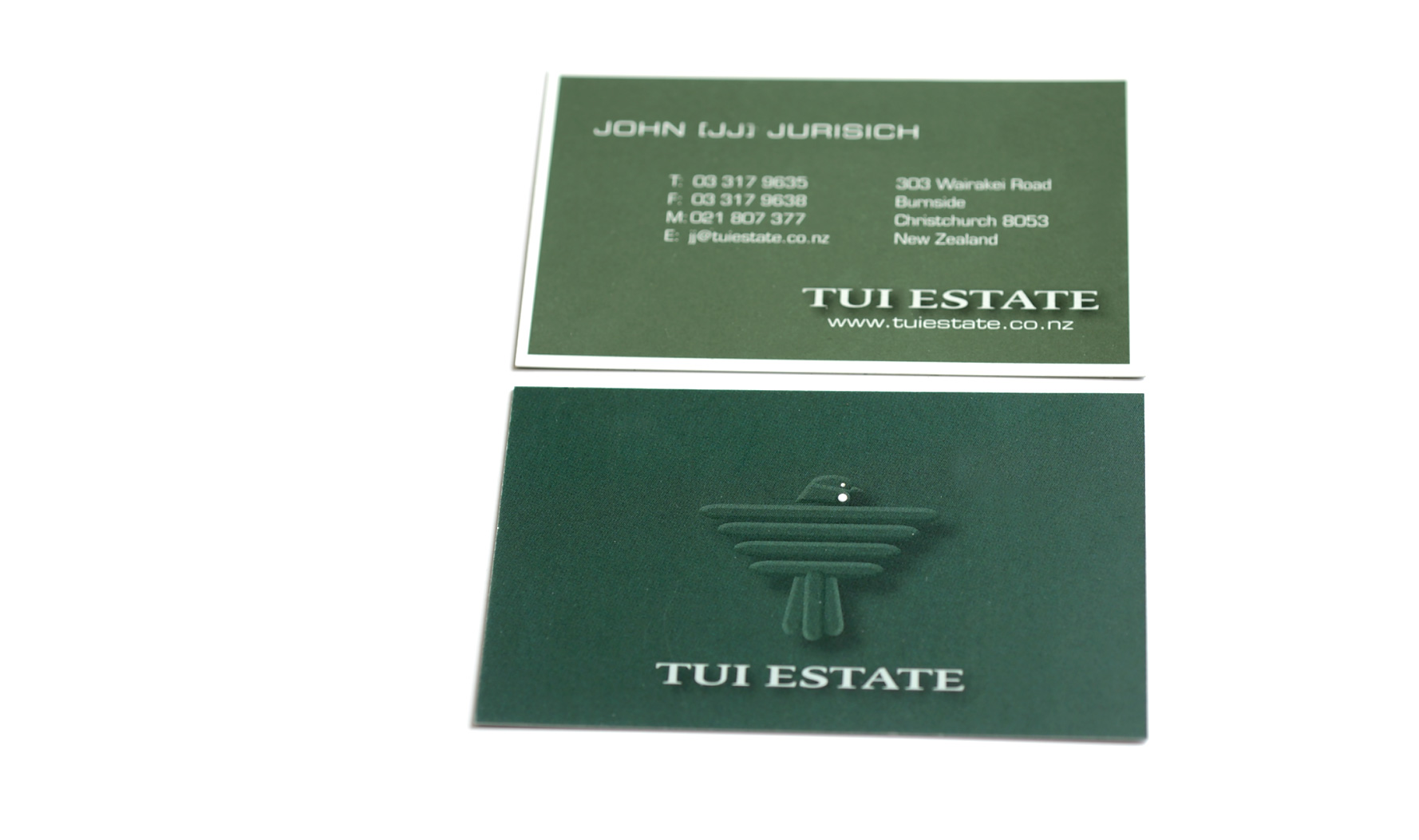 Tui Estate Business Card