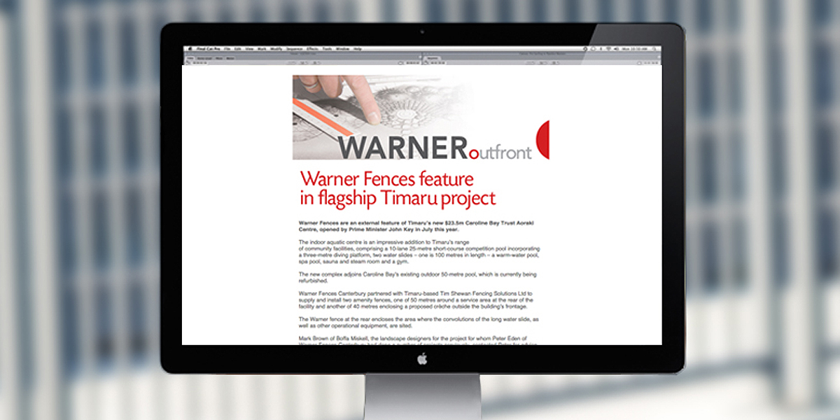 Warners Online Marketing
