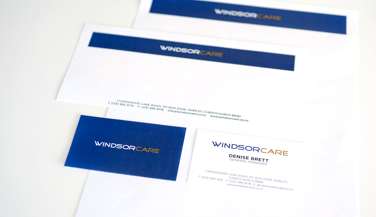 Windsor Care Stationery