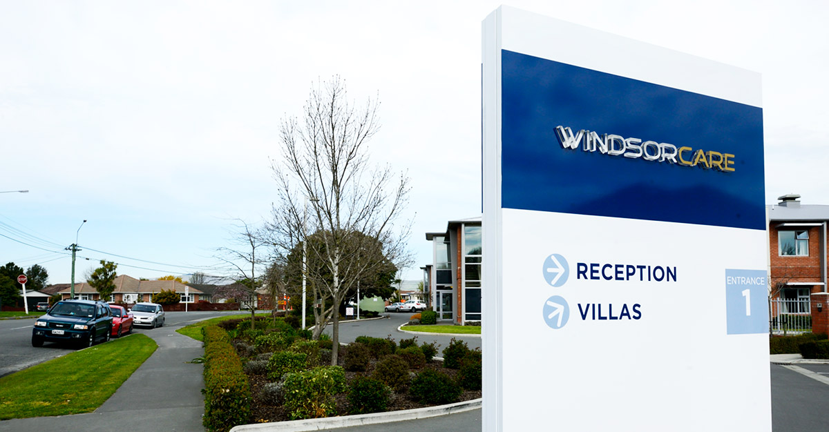 Windsor Care Signage